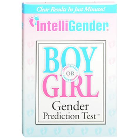 intelligender gender prediction test drugstore