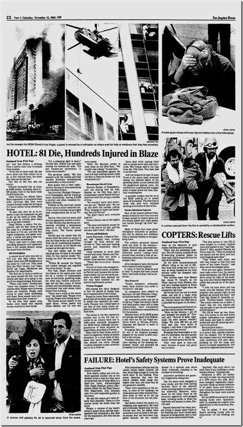 Nov. 22, 1980, MGM Grand