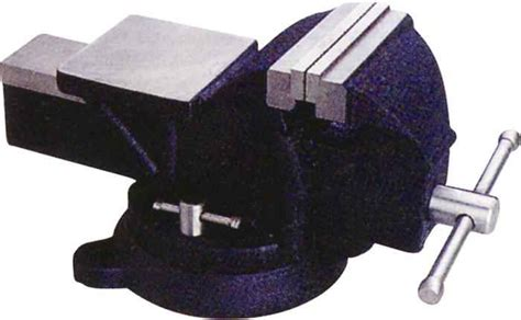bench vises heavy duty mintcraft jl250113l 4 in heavy duty bench vise at sutherlands