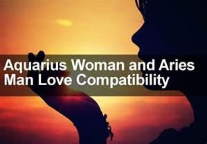 aquarius woman aries man sexual love marriage