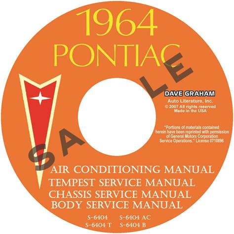 1964 pontiac tempest and lemans repair shop manual reprint 1964 pontiac lemans repair manual for a free 1964