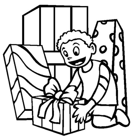 coloring pages birthday presents gift coloring pages alltoys for