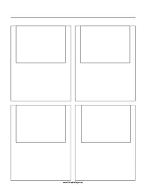 printable paper net storyboard printable storyboard with 2x2 grid of 4 3 full screen