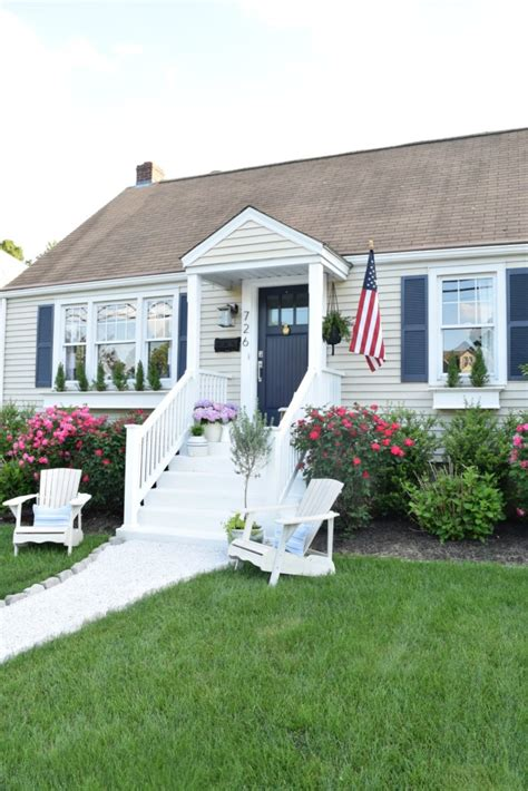 updating a cape cod style house curb appeal diy details curb appeal nest and exterior remodel