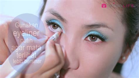 tutorial wardah cosmetik tutorial makeup eyeshadow wardah saubhaya makeup