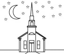 church coloring pages coloring books by connected lines