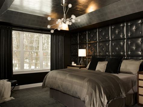Modern Chandeliers For Bedrooms Pictures Of Bedroom Wall Color Ideas From Hgtv Remodels Home Remodeling Ideas For Basements
