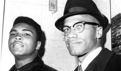 malcolm x figure muhammad ali in pictures this is africa
