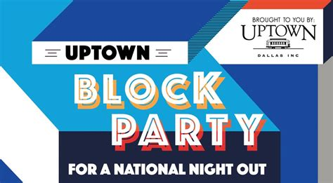 2016 texas national night out uptown block party for national night out dear clark