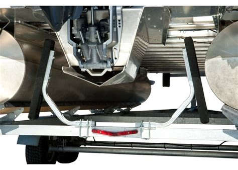 inner tube for boat trailer pontoon boat trailer guide on carpeted bunk board kit