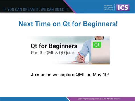 qml layout exle qt for beginners part 2 widgets
