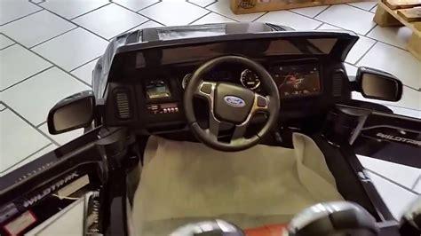 Kinderautos 12v by Ford Ranger Pickup Kinderauto Getuned Luxusedition 12v