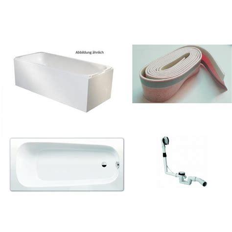 wanne kaldewei kaldewei 3 5mm stahl badewanne wanne set mit tr 228 ger und