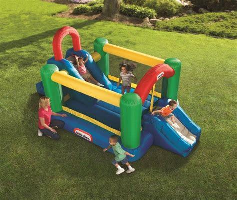 gonfiabili da giardino per bambini mega doppio parco giochi gonfiabile per bambini da