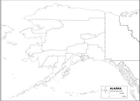 printable map alaska free map of alaska