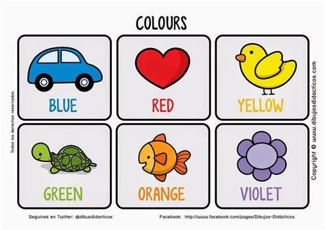 dibujos infantiles ingles sgblogosfera mar 237 a jos 233 arg 252 eso colores conocemos y