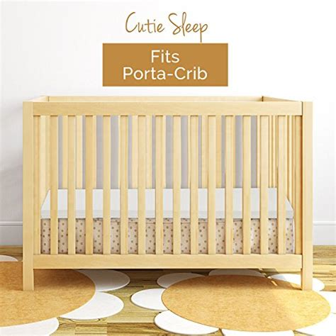 Mattress Topper For Crib From Usa Milliard Portable Crib Mattress Topper 2in Ventilated Memory Foam With Removable
