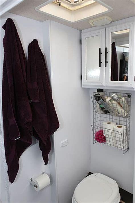 RV Bathroom Storage Ideas   RV Obsession