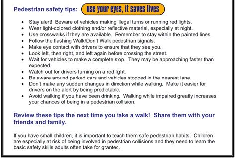 walking tips bicycle and pedestrian safety city of berkeley ca