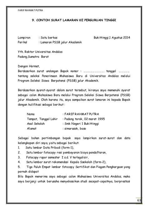 contoh surat harapan calon mahasiswa ipb 20 images aliran aliran