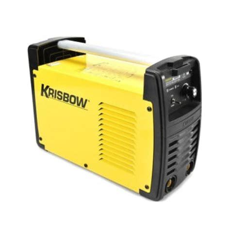 Mesin Las Inverter 160a 1ph Krisbow harga mesin las listrik krisbow termurah di indonesia kalibrasi meter