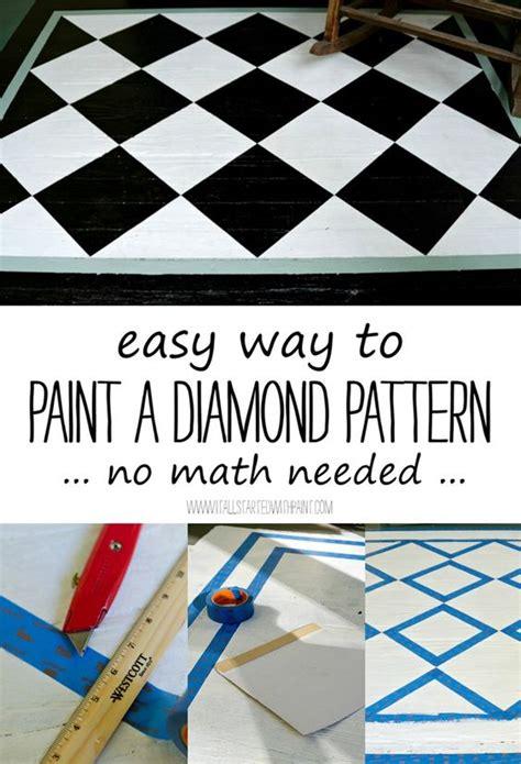 pattern lock math diamond pattern how to paint and diamonds on pinterest