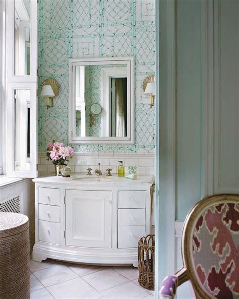 wallpaper blue bathroom wallpaper backsplash design decor photos pictures