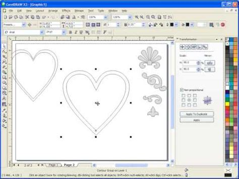 pattern making in coreldraw creating scroll saw patterns with corel draw youtube