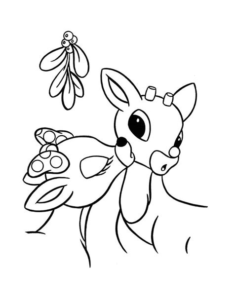 coloring page rudolph free printable rudolph coloring pages for kids