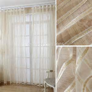 Gold And White Curtains Luxury Modern Volie Sheer Tulle Curtains For Living Room Gold And White Beaded Curtains For