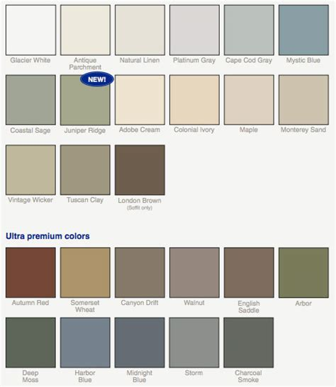 colors of vinyl siding vinyl siding color options vinyl siding company hartford ct