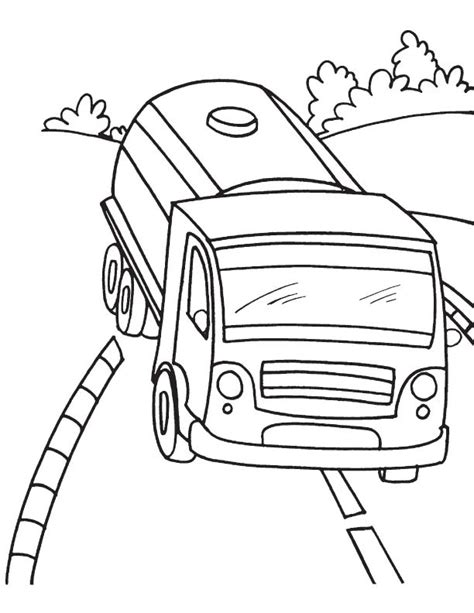 oil truck coloring page oil truck free coloring pages coloring pages