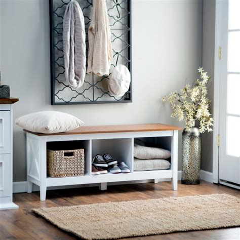 storage bench in the hallway 20 ideas for hallway space