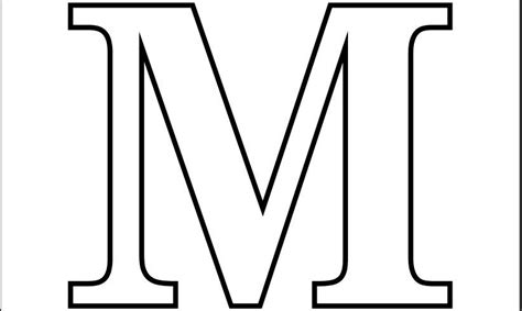printable coloring pages for the letter m printable pdf letter m coloring page printable alphabet