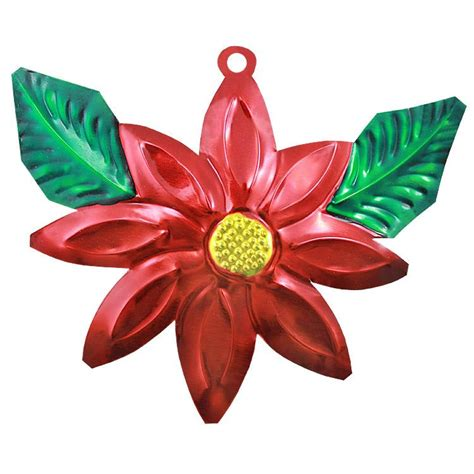 ornaments collection poinsettia ornament tor101