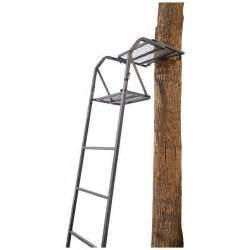Tree stands ladder tree stands guide gear 15 ladder tree stand