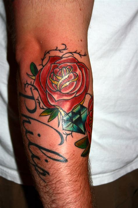 roses on arm tattoos tattoos arm