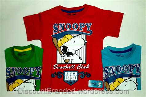 Kaos 3 Snoopy by Kaos Anak Discount Pakaian Anak Branded Laman 2