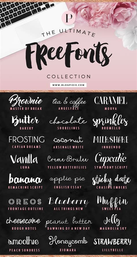 font design software free online the ultimate free fonts collection blog pixie