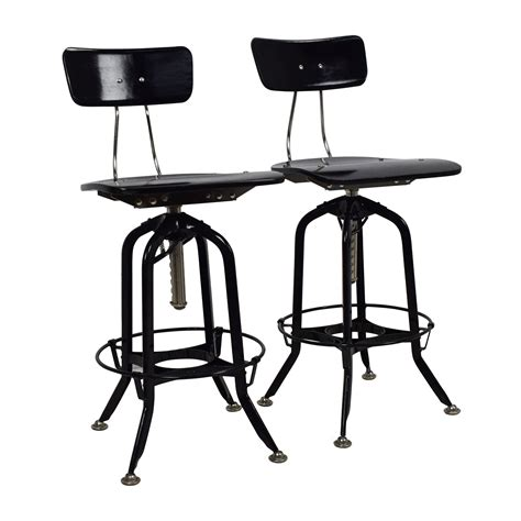Restoration Hardware Bar Table 71 Restoration Hardware Restoration Hardware Vintage Toledo Bar Chair Pair Chairs