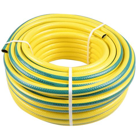Garden Hose Yellow 15m Heavy Duty Yellow Hose Pipe Outdoor Watering Garden New