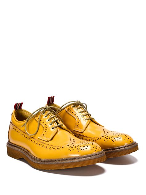 george shoes leather brogue shoes by green george lace ups shoes ikrix
