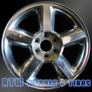20 Chevy Truck Wheels For Sale Chevy Tahoe Wheels For Sale 2007 2009 20 Quot Polished Rims 5308