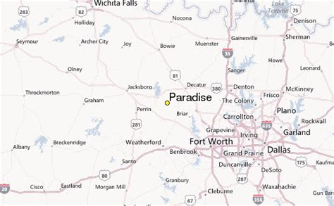 paradise texas map paradise weather station record historical weather for paradise texas