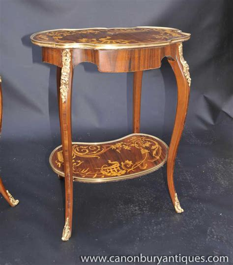 sofa table ebay pair louis xv rococo side tables cocktail sofa table ebay