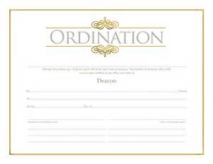 deacon ordination certificate template deacon ordination certificate ordination christian
