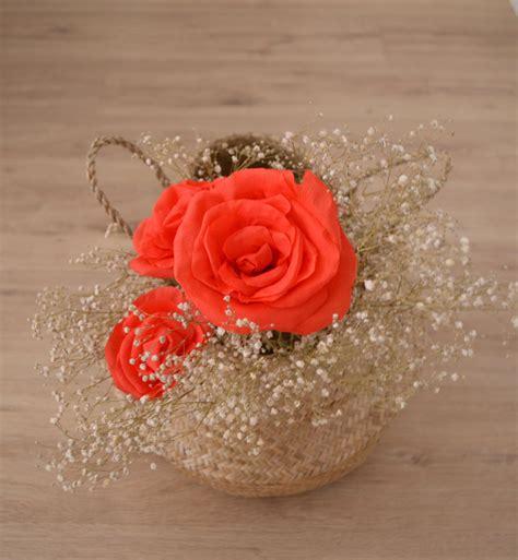 como hacer moo de papel crepe c 243 mo hacer rosas de papel crep 233 departamento de ideas