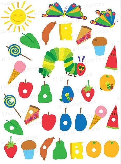The Hungry Caterpillar Printables hungry caterpillar free printables b lovely events