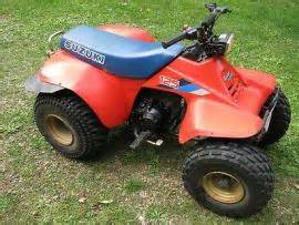 1986 Suzuki Atv Ship A 1986 Suzuki Lt 125 Runner 4 Stroke With Rev To