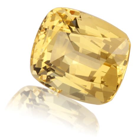 golden topaz cushion 6 42ct king gems